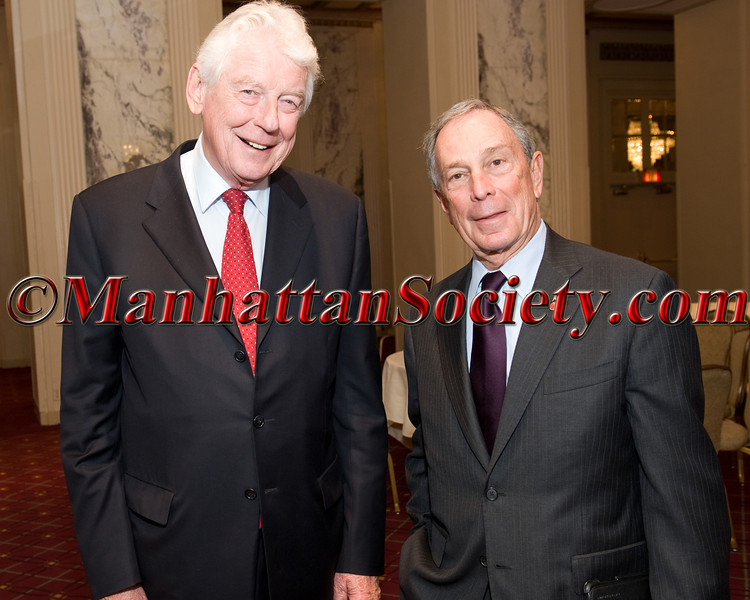 Former Prime Minister of The Netherlands & Current President of Club de Madrid Wim Kok & NYC Mayor Michael Bloomberg