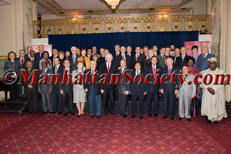 Club de Madrid Members with NYC Mayor Michael Bloomberg