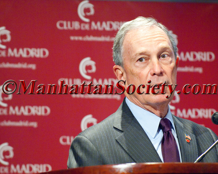NYC Mayor Michael Bloomberg