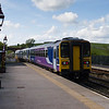 Leaving the train at Kirkby Stephen