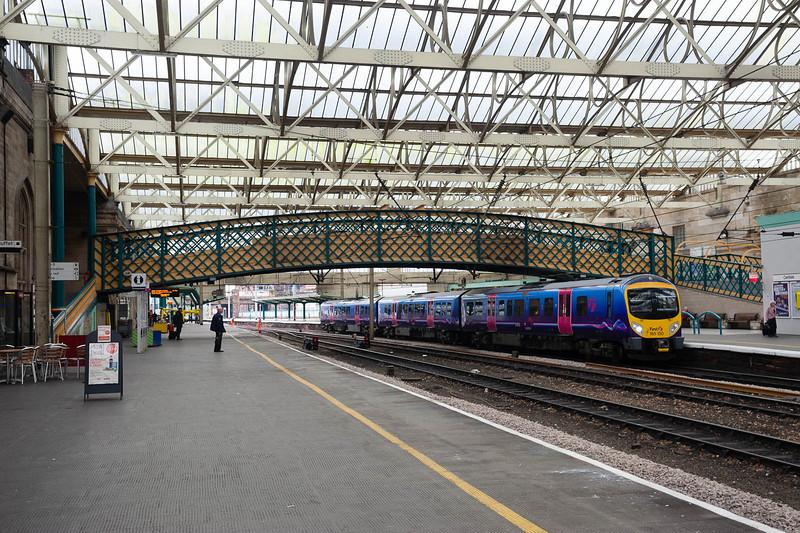 Changing trains at Carlisle