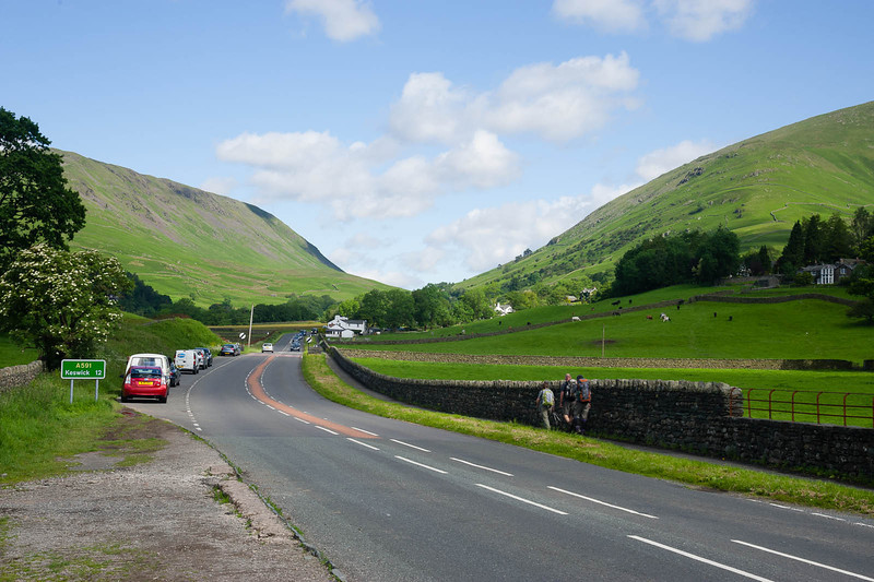 The road to Keswick