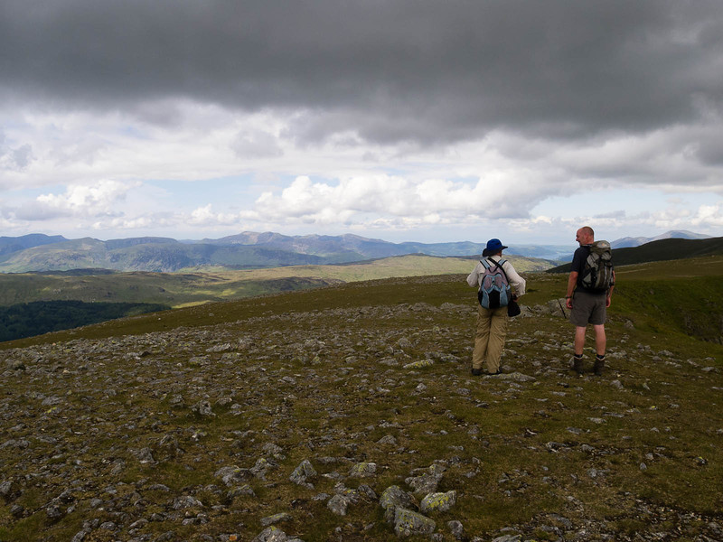 The broad back of Helvellyn