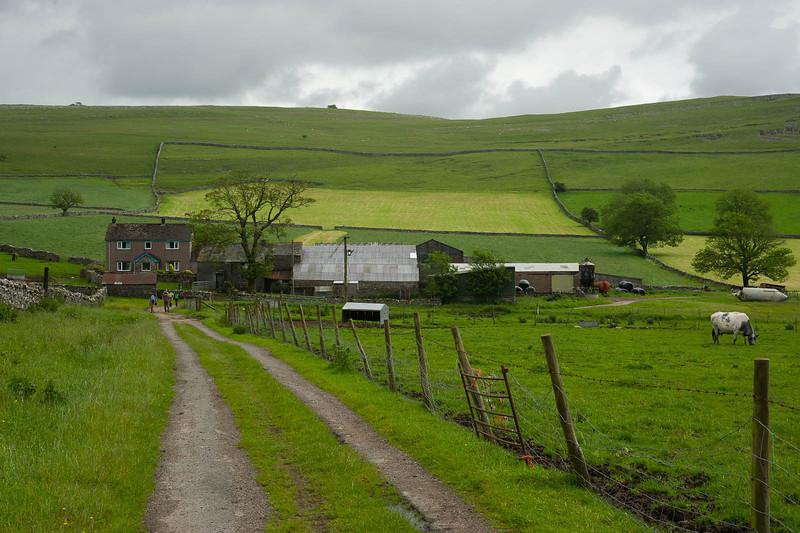 Approaching a farm