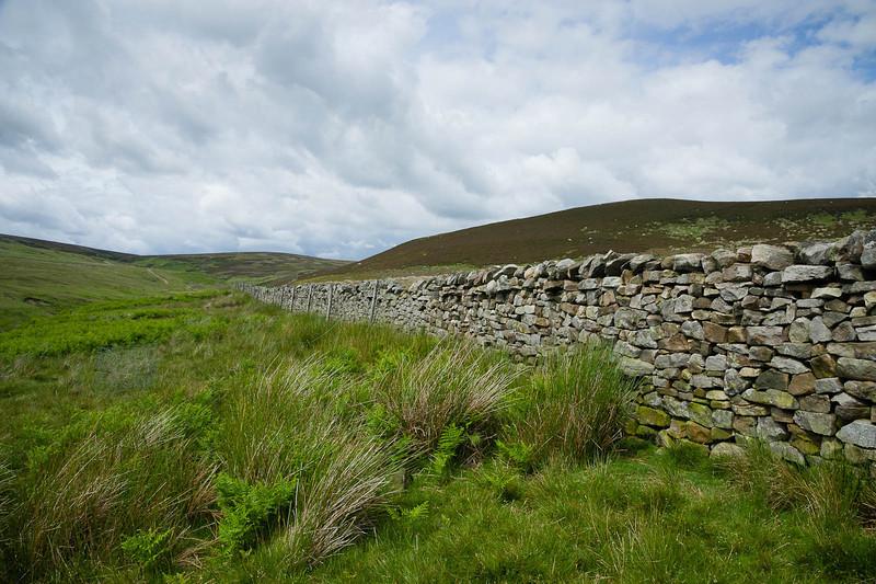 Reinforced wall
