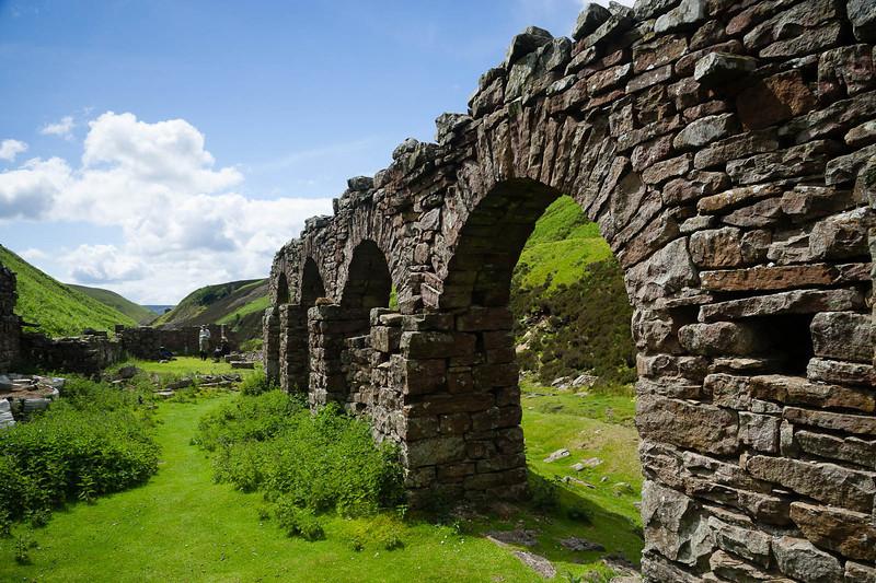 Surviving arches