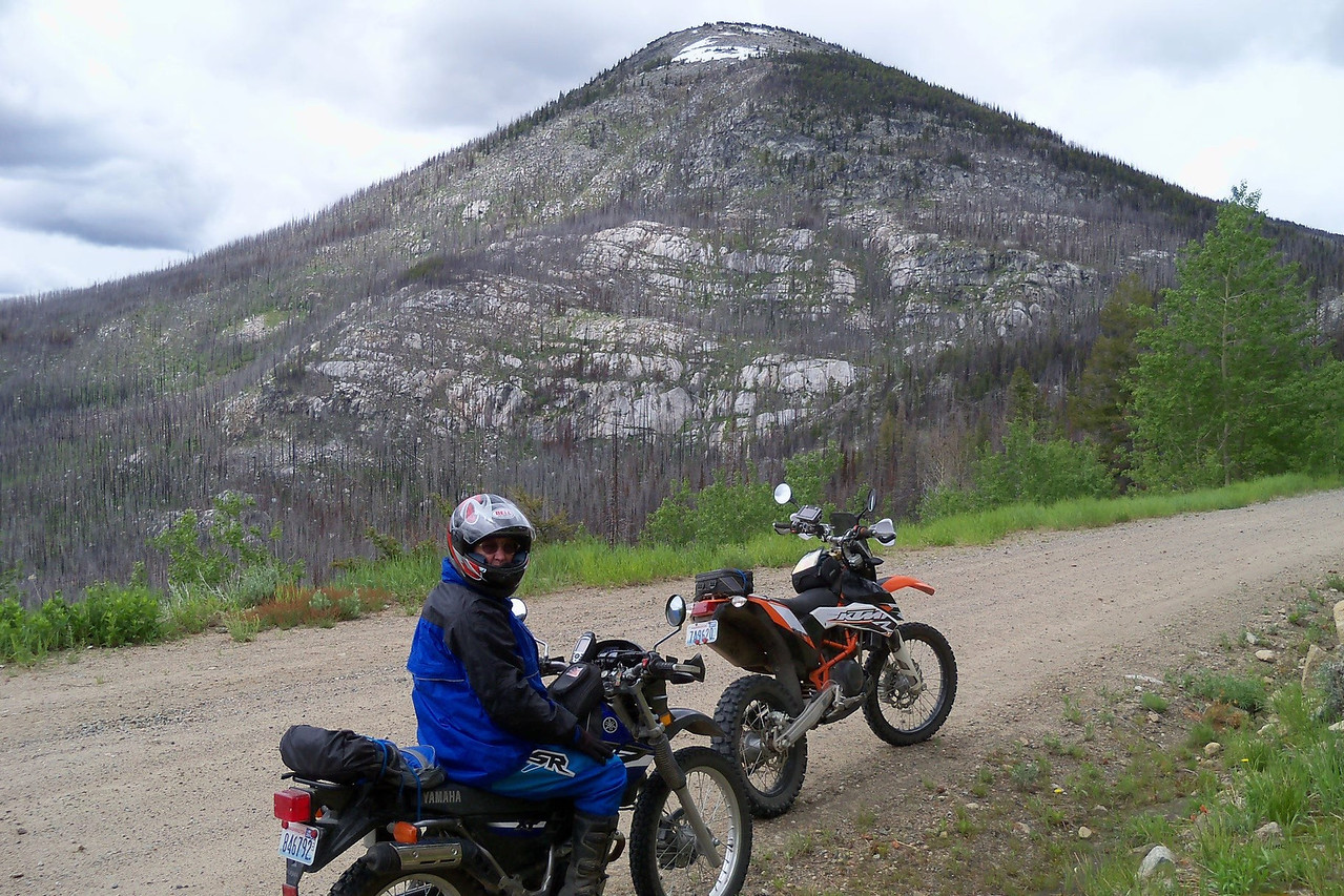 """""""Old Baldy Mt."""" on Thursday's ride"""