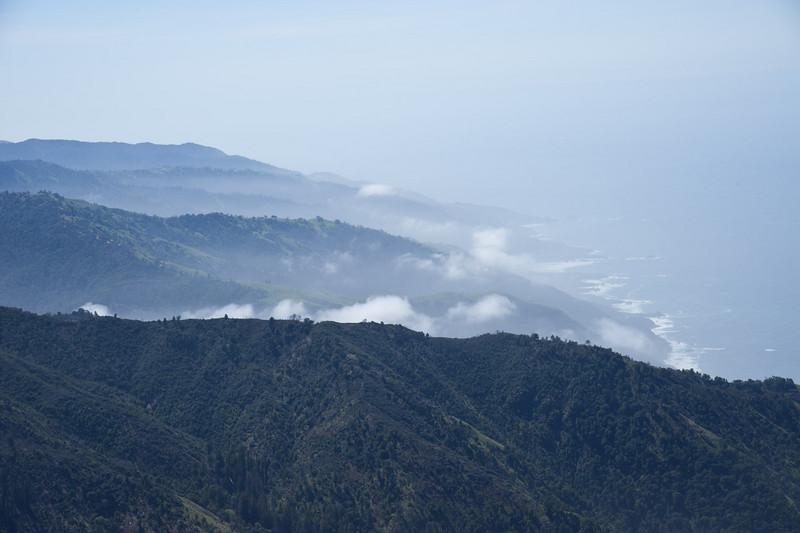 Coastal valleys and fog