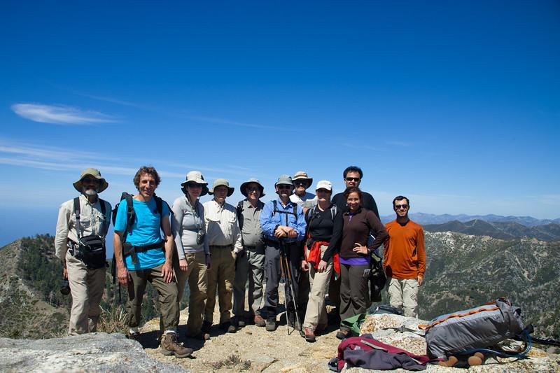 Cone Peak, summit photo