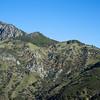 Cone Peak ridge