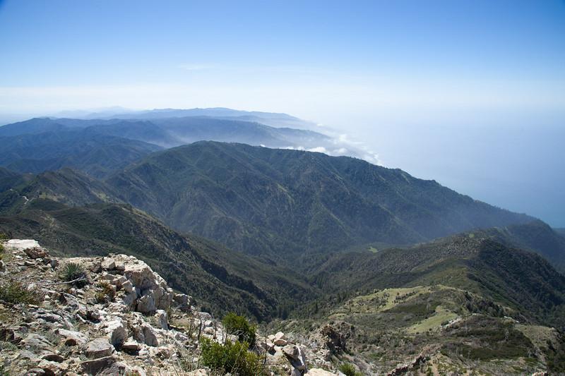 View south toward San Simeon
