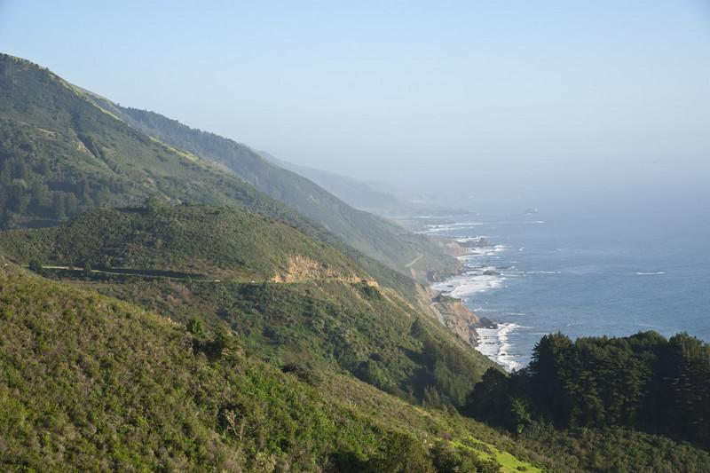 Nacimiento-Ferguson Road meets the coast