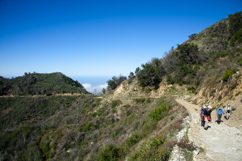 Following Cone Peak Road