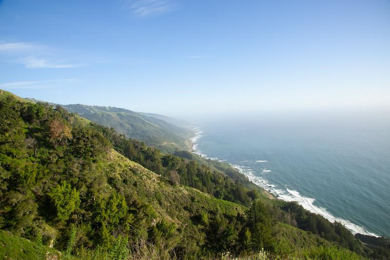 Coastline to the south