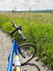 Bike on the dirt road