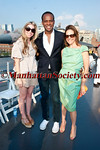 Alexandra Lind Rose, Frederick Anderson, Alexandra Lebenthal attend DOUGLAS HANNANT RESORT 2012 RUNWAY SHOW AT THE INTREPID on Tuesday, June 7, 2011 at The Intrepid Sea, Air & Space Museum, Pier 86, West 46th Street and 12th Avenue, New York City  PHOTO CREDIT: Copyright ©Manhattan Society.com 2011 by Christopher London