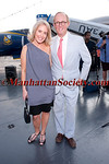 Amy Hoadley, Mark Gilbertson attend DOUGLAS HANNANT RESORT 2012 RUNWAY SHOW AT THE INTREPID on Tuesday, June 7, 2011 at The Intrepid Sea, Air & Space Museum, Pier 86, West 46th Street and 12th Avenue, New York City  PHOTO CREDIT: Copyright ©Manhattan Society.com 2011 by Christopher London