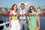 Gillian Hearst-Shaw Simonds,  Christian Simonds, Alexandra Lebenthal attend DOUGLAS HANNANT RESORT 2012 RUNWAY SHOW AT THE INTREPID on Tuesday, June 7, 2011 at The Intrepid Sea, Air & Space Museum, Pier 86, West 46th Street and 12th Avenue, New York City  PHOTO CREDIT: Copyright ©Manhattan Society.com 2011 by Christopher London
