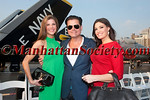 Dr. Dendy Engelman, Douglas Hannant, Kimberly Guilfoyle attend DOUGLAS HANNANT RESORT 2012 RUNWAY SHOW AT THE INTREPID on Tuesday, June 7, 2011 at The Intrepid Sea, Air & Space Museum, Pier 86, West 46th Street and 12th Avenue, New York City  PHOTO CREDIT: Copyright ©Manhattan Society.com 2011 by Christopher London