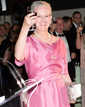 HM Queen Margrethe II gives a toast at the 2011 DANISH AMERICAN SOCIETY Person of the Year Royal Gala Celebration Honoring Her Majesty Queen Margrethe II of Denmark on Thursday, June 9, 2011 at The American Museum of Natural History, Columbus Avenue at 79th Street, New York, NY  PHOTO CREDIT: ©Manhattan Society.com 2011