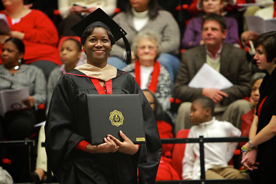 Gardner-Webb celebrates Fall Commencement; December 19, 2011 in the Lutz-Yelton Convocation Center.