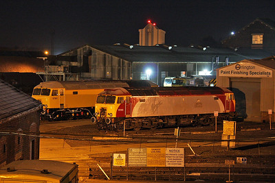 57310 Eastleigh 10/12/11 with 57301