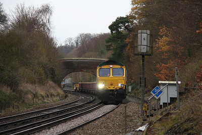 66740 Micheldever 11/12/11 6G11 Fareham to Eastleigh