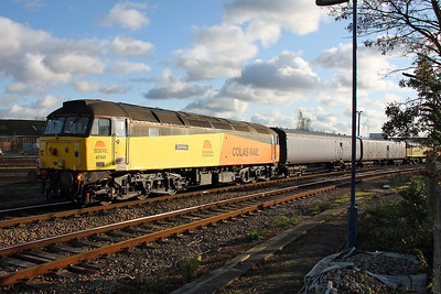 47749 Eastleigh 16/12/11 5Z74 St Philips Marsh to Eastleigh
