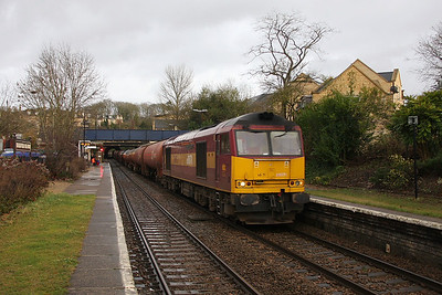 60071 Bradford on Avon 29/12/11 6B33 Theale to Robeston