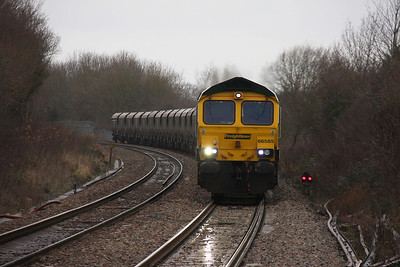 66585 Yate 29/12/11 4V06 Rugeley to Stoke Gifford