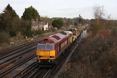 60024 Worting Junction 20/12/11 6O26 Hinksey to Eastleigh (I also got a shot of it at Oxford later in the day working 6X65 Didcot to Mossend with 92031 dit)