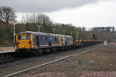 73141 Micheldever 11/12/11 6G10 Fareham to Eastleigh with 73207