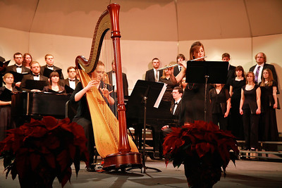 GWU celebrates the annual Festival of Lights; Decemeber 1, 2011.