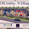 Tribune-Star/Joseph C. Garza<br /> Offering shelter: An artist's rendering of YOUnity Village which will be built at 506 North 15th Street.