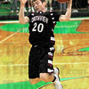 Mine: Northview's #20, Dillon Reynolds hauls in a rebound during game action Friday night at West Vigo.