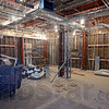 Tribune-Star/Jim Avelis<br /> Underway: The work on the new Neonatal Intensive Care Unit of Union Hospital is well under way. Electrical conduit and pipes for gasses and water  will be covered with drywall eventually.