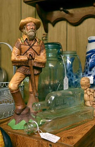 Tribune-Star/Joseph C. Garza<br /> Good prospects: A variety of collectibles are available at Another Man's Treasure at 1437 Ohio Street.