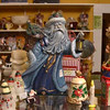 Tribune-Star/Joseph C. Garza<br /> That time of the year: Seasonal collectibles like this Santa Claus are for sale at Another Man's Treasure at 1437 Ohio Street.