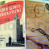 "Memories: John Benna memorabilia including a photograph, program and ""Golden Gloves"" jewelry were on display Saturday."