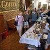 Winter market: Shoppers walk through the Clabber Girl Museum and shop during the Winter Farmers Market.
