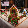 Tribune-Star/Jim Avelis<br /> Patriot pastry: This North Pole gingerbread house was made by students from Terre Haute North High School.