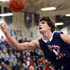 Eye on the prize: Terre Haute North's Calvin Blank reaches for a rebound during game action against Owen Valley during Wednesday's action of the Pizza Hut Wabash Valley Classic.