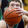 Freebee: West Vigo's Jordan Houser eyes the basket while shooting a free throw Wednesday night.