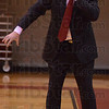 Tribune-Star/Jim Avelis<br /> Fighter: Jon Prevo, women's head basketball coach at Rose-Hulman, shows the effects of chemo therapy his took to combat stomach cancer.