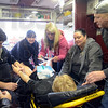 Simulation: The Rural Health Innovation Collaborative Simulation Center conducts an in-the-field simulation in conjunction the Ivy Tech Wabash Valley's Paramedic Program Tuesday afternoon.