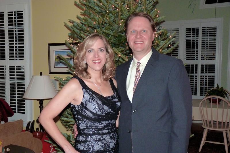 Scott & Elizabeth, before the SOI Christmas Party