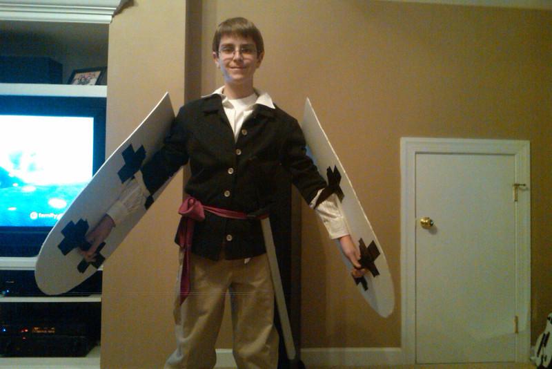 Anthony's Leonardo costume