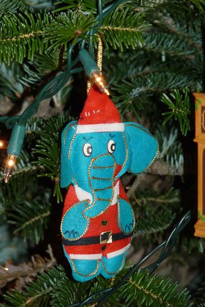 Scott's childhood ornament