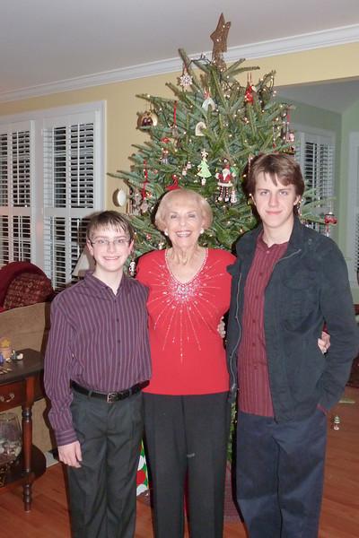 Nonna and the boys