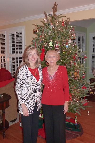 Mom and Elizabeth